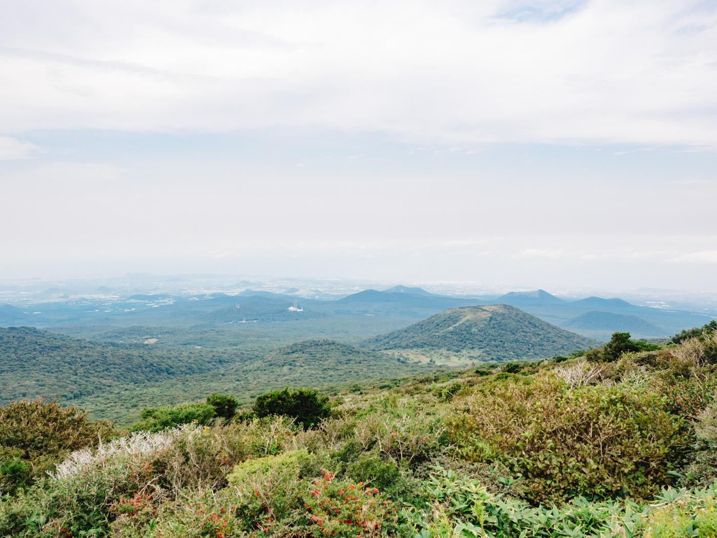 Korea - Mt Hallasan - Magnificent view
