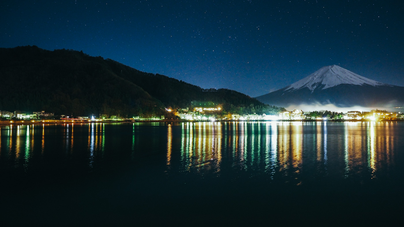 Japan - Mount Fuji - Kozanteiubuya Ubuya night view is stunning!