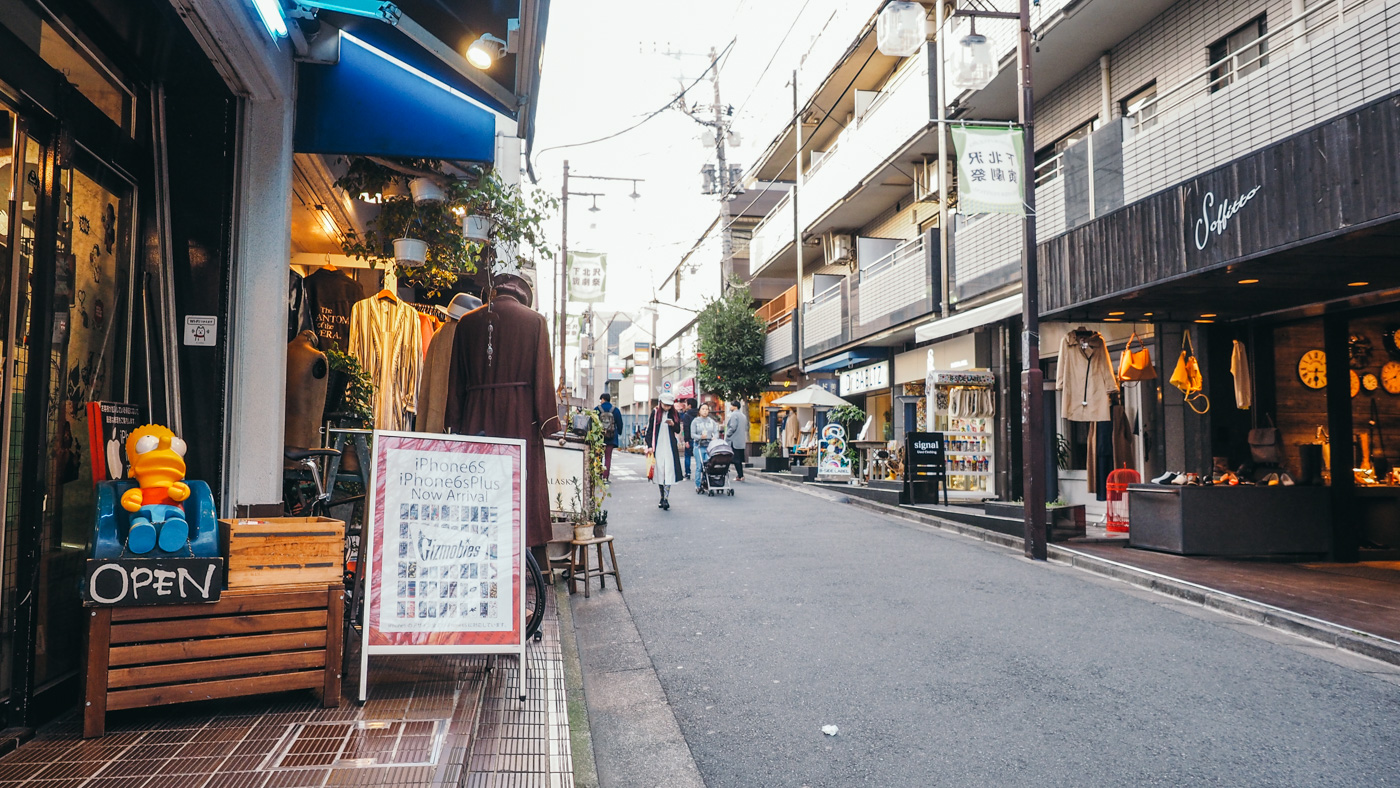 Japan - Shimokitazawa - Nice indie street to visit