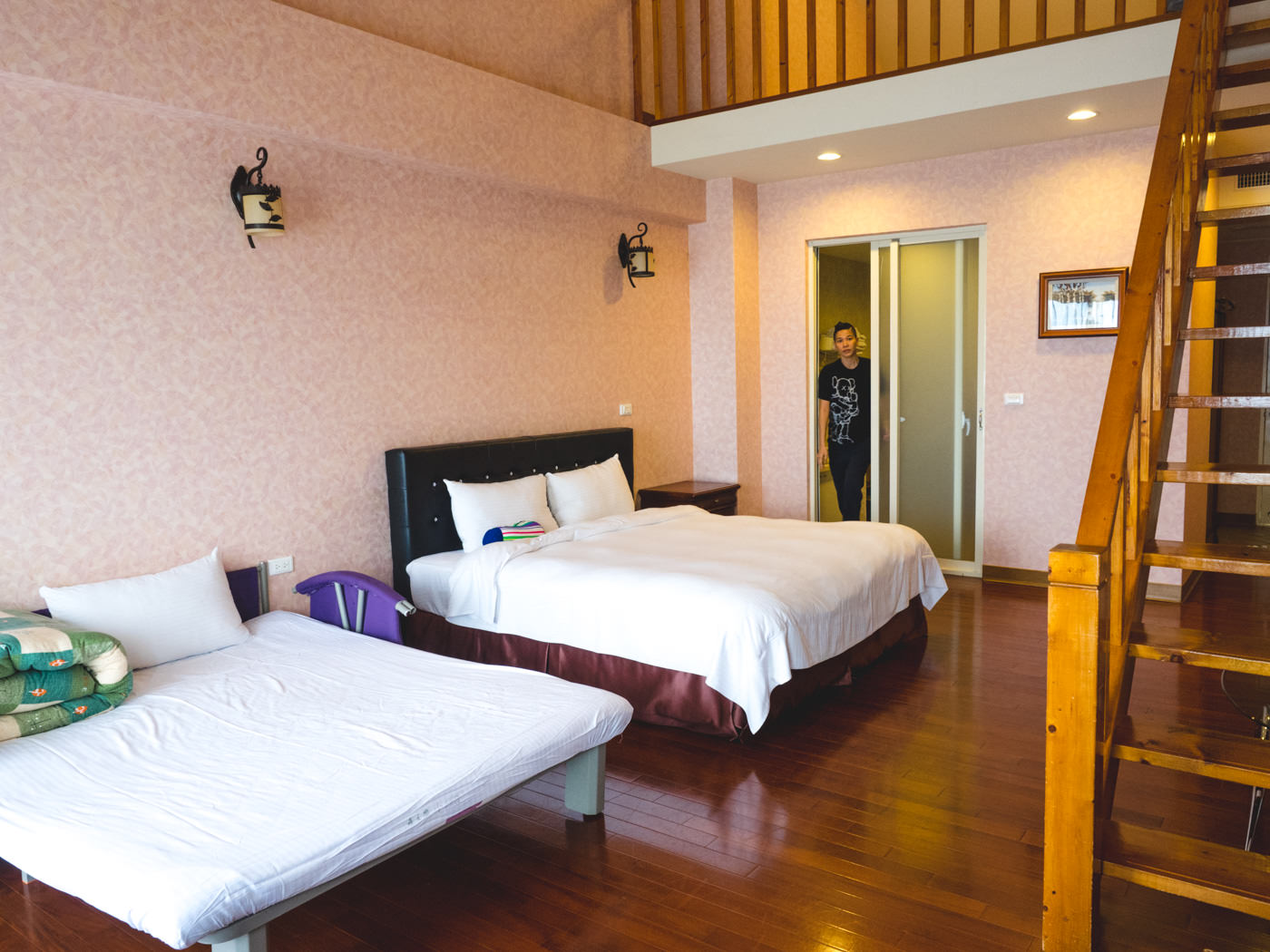Taiwan - Qingjing - Spacious room