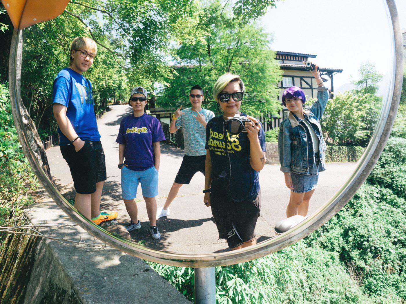 Taiwan - Qingjing - Wefie time