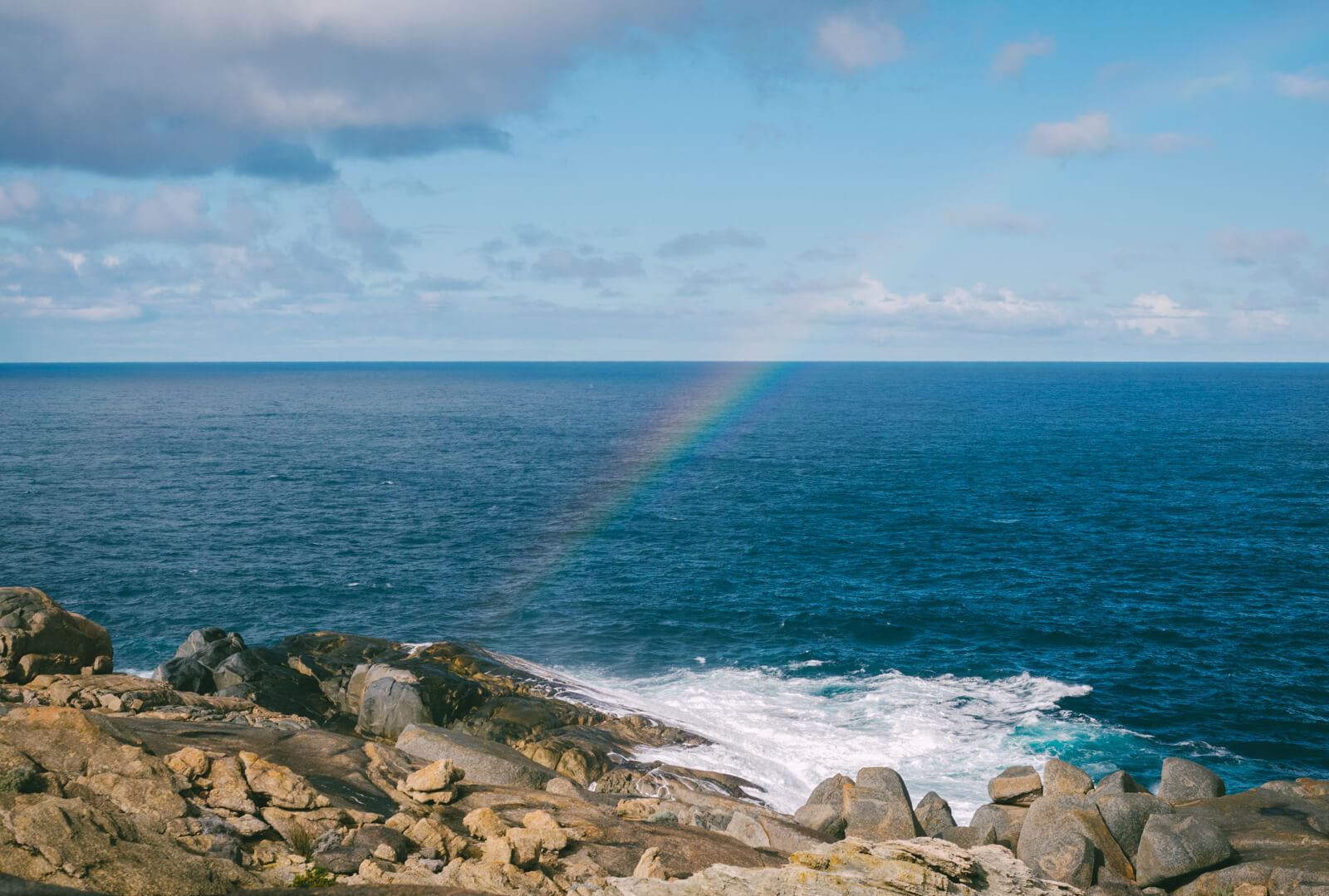 Albany, Australia - Rainbow at The Blow Hole