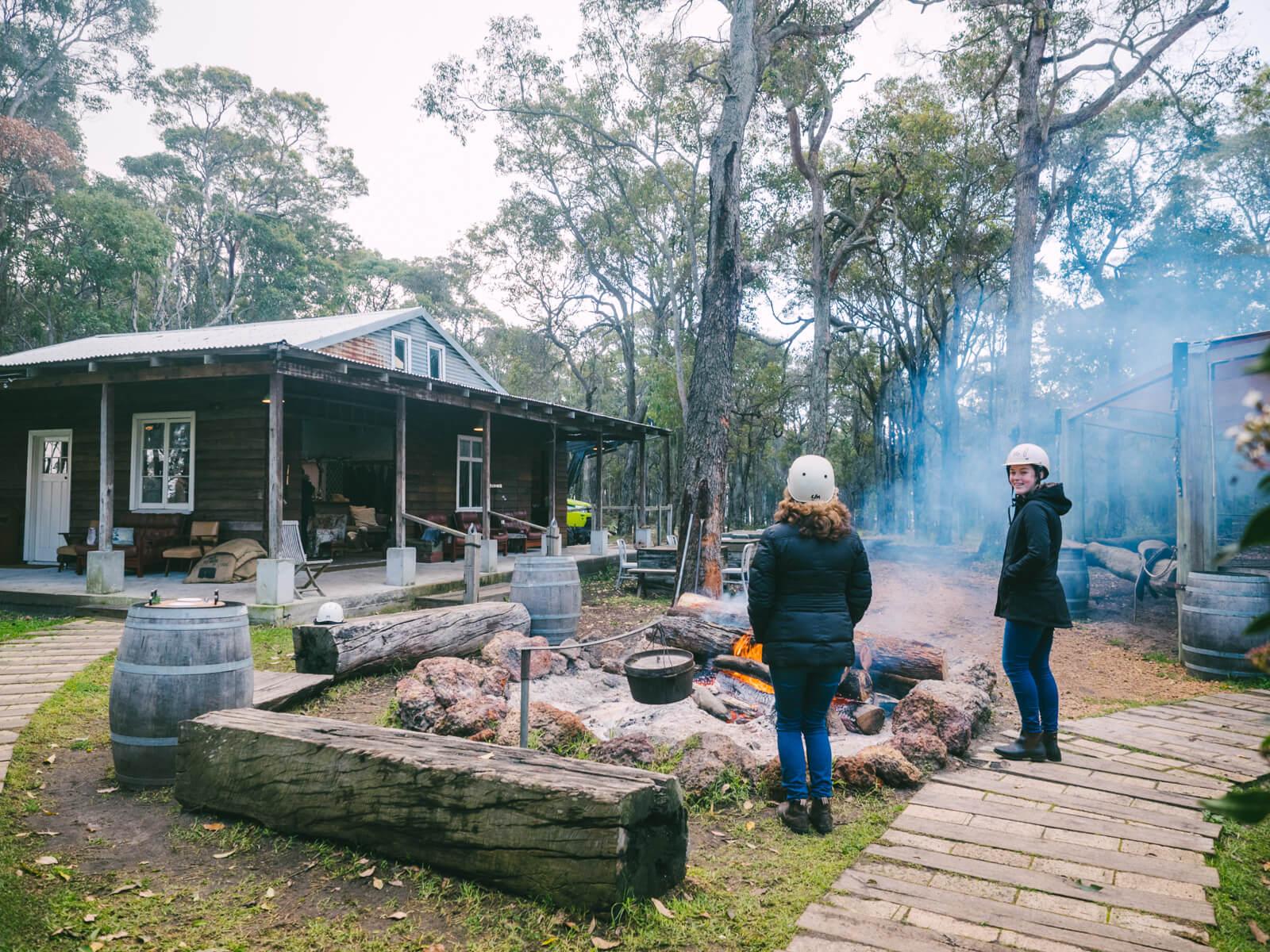 Perth, Australia - Jesters Flat - Campfire area