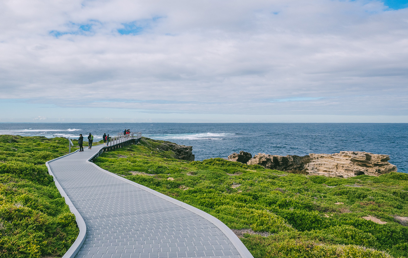 Australia - Rottnest Island - Cape Vlamingh Coastline walkway