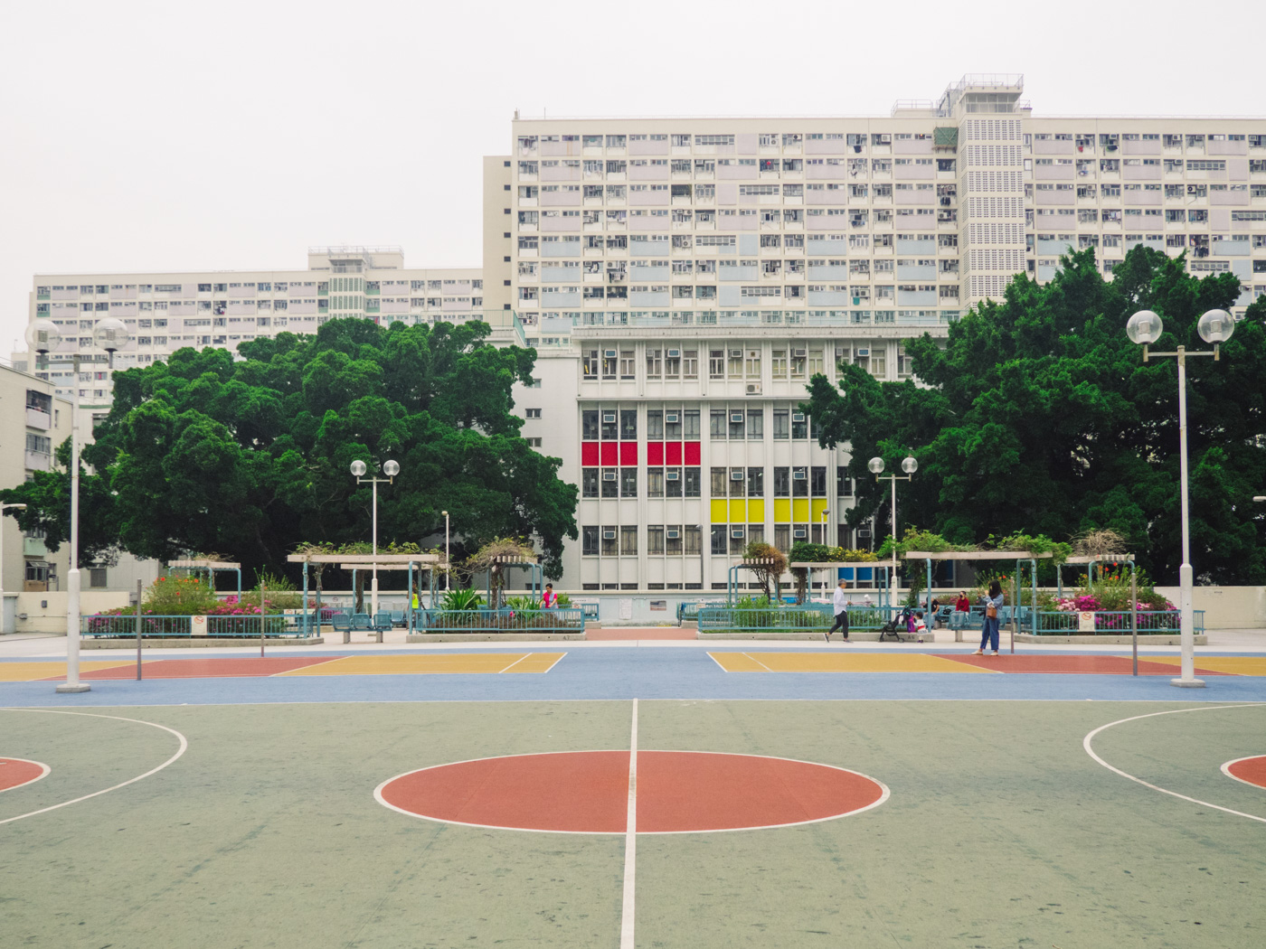 Hong Kong - Rainbow Estate - Basketball court