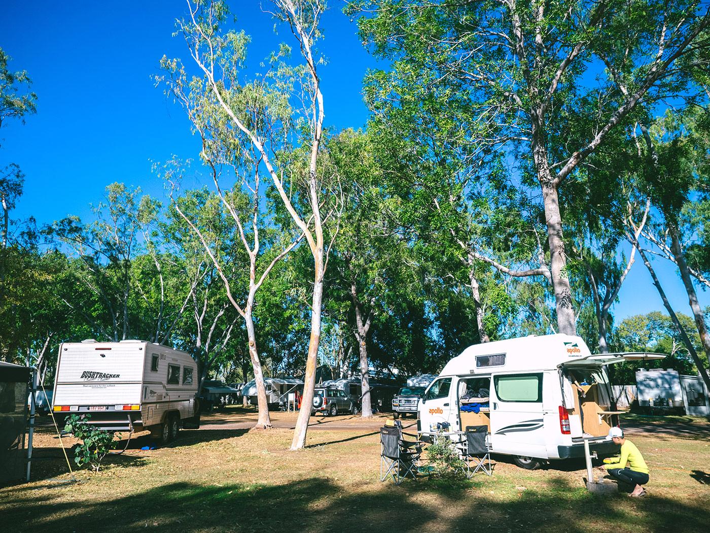 NT Australia - Katherine Holiday Park