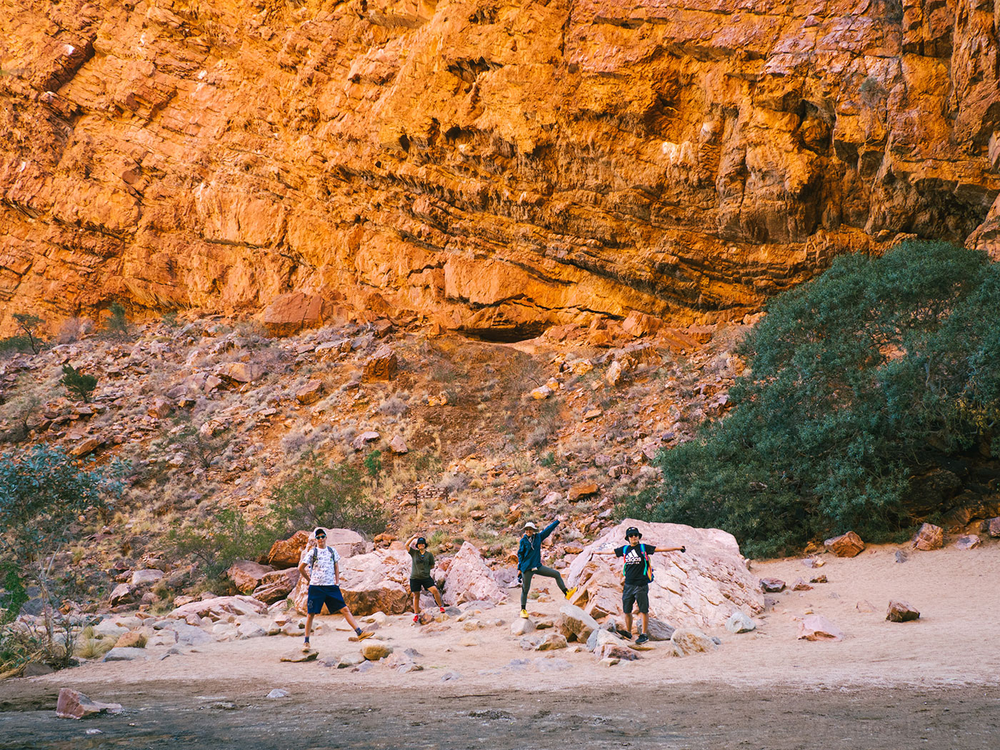 Our postcard shot at Simpsons gap